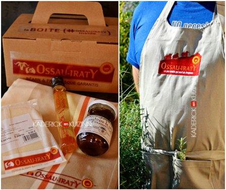 Ossau Iraty, les produits reçu dans la box fromage en partenariat - blog de cuisine