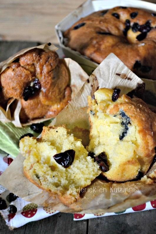 Recette de cake et muffins à l'ananas et cranberries pour le gouter