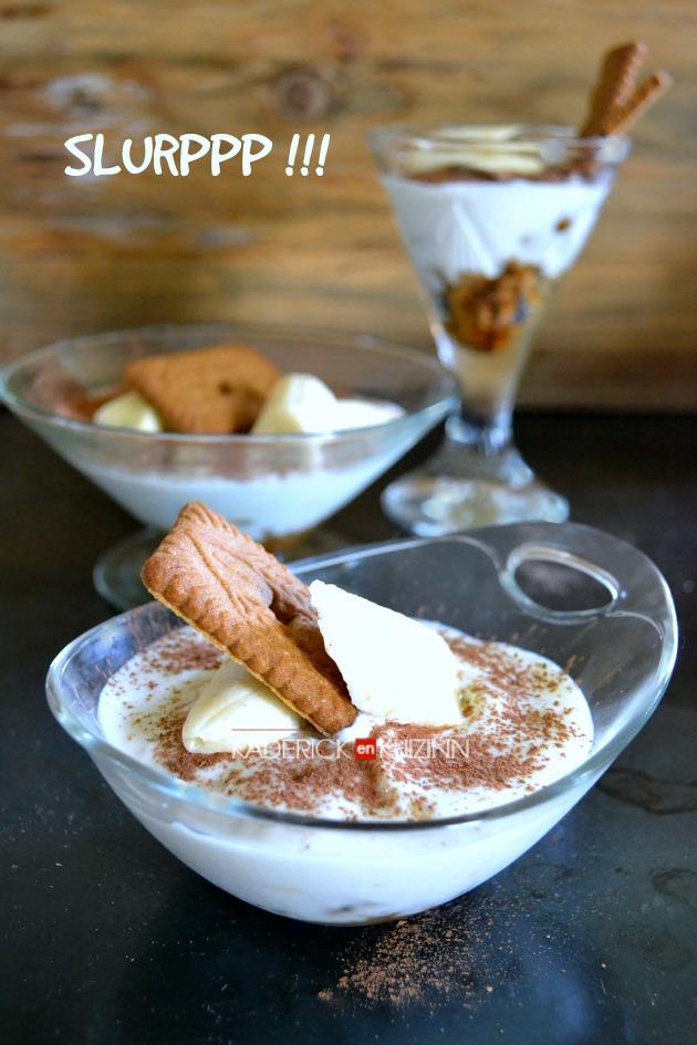 Banoffee pie - Dessert en verrine façon banoffee pie au yaourt grec à la vanille