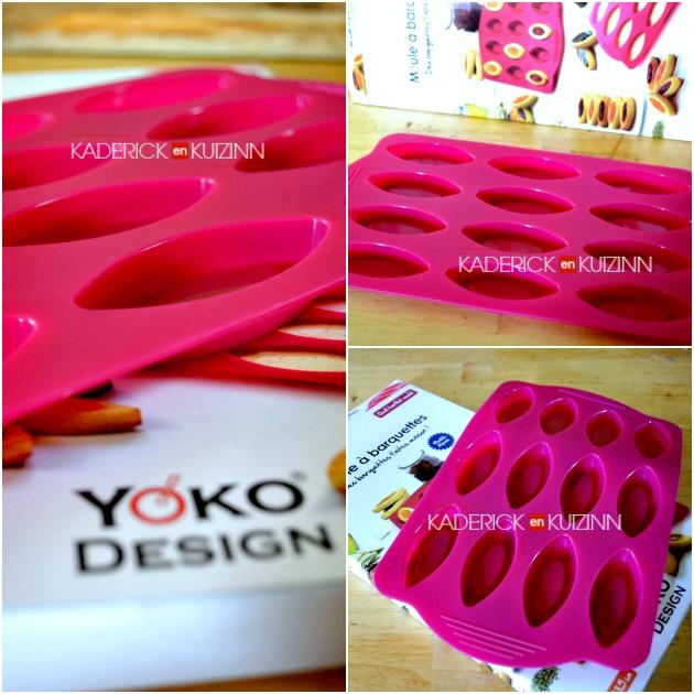 Partenariat Yoko Design - Produits silicone avec le moule à barquettes