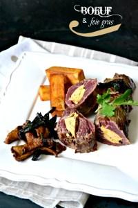 Plancha onglet - Rôti d'onglet farci de foie gras mi-cuit de canard à la plancha - calendrier jour 9