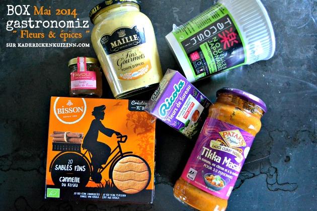 Partenariat avec Gastronomiz et leur box fleurs et épices