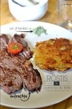 Plancha rosti - Recette röstis aux pommes de terre à la plancha et sel d'herbes Cuisine plancha