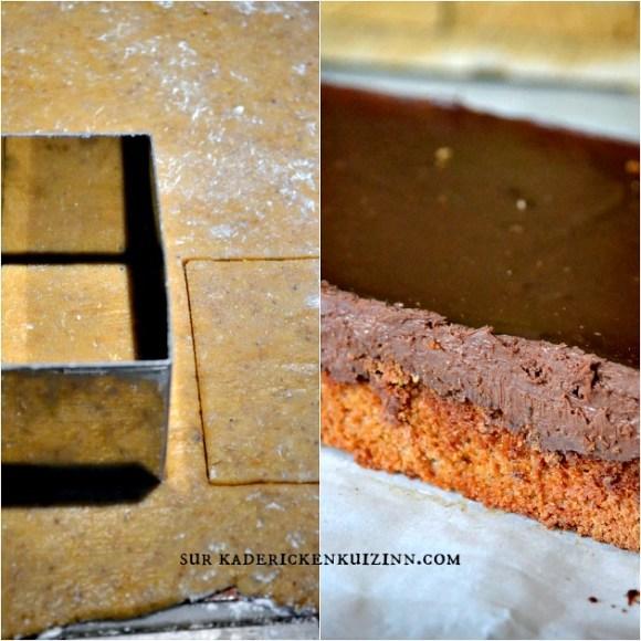 L'intense tout chocolat, recette de petits gâteaux pâtissier