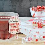 Confiture fait maison - Confiture fraises et groseilles bio