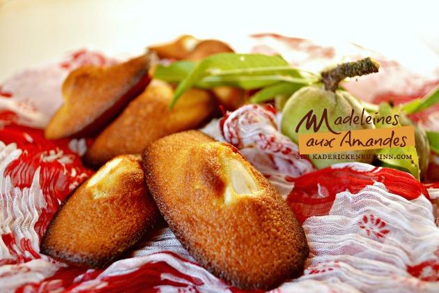 Recette madeleine - Madeleine amandes fraîches fève tonka