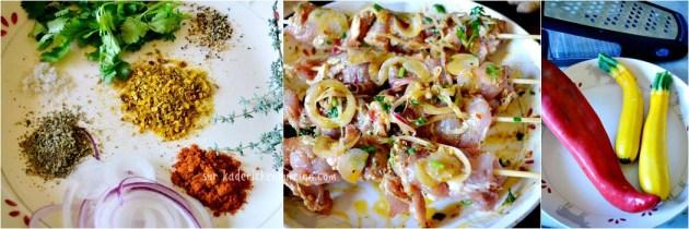 Araignee plancha - Brochette d'araignee de porc à la mode Toscane