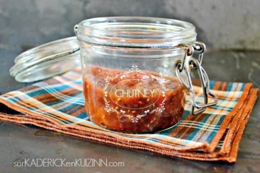Chutney recette - Chutney aux pruneaux abricots framboises - jour 20 calendrier de l'avent