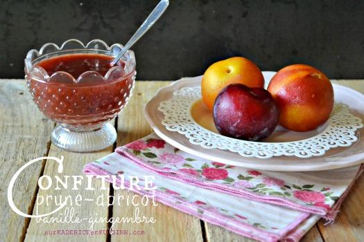 Confiture prunes - Recette de confiture aux prunes abricots bio