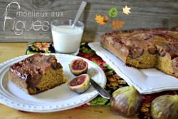 Moelleux figues - Gâteau moelleux figues rapadura et vanille - recettes automne