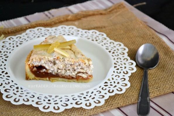 Gateau toulousain - Le Fenetra à la compotée d'abricot, citron confit et poudre d'amande