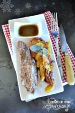 Cuisine plancha - Dégustation onglet veau plancha pomme lardons jus et miel