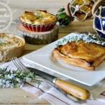 Chausson feuilleté - Chausson au thon mascarpone et citron vert