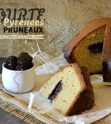 Tourte Pyrenees - Gâteau régional revu tourte aux pruneaux