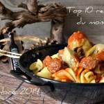 Decembre 2014 – Top 10 recettes Décembre sur Kaderick en Kuizinn.com©
