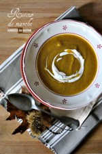 Cuisine legume - Soupe moulinee bio de potimarron, butternut, pâtisson et champignon - Kaderick en Kuizinn