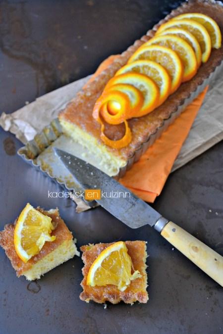 Dégustation ultra moelleux à l'orange, amande et imbibé de sirop à l'orange - Kaderick en Kuizinn