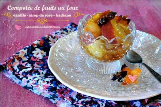 Recette compotee fruits - Recette fruits au four de Jamie Oliver | Kaderick en Kuizinn