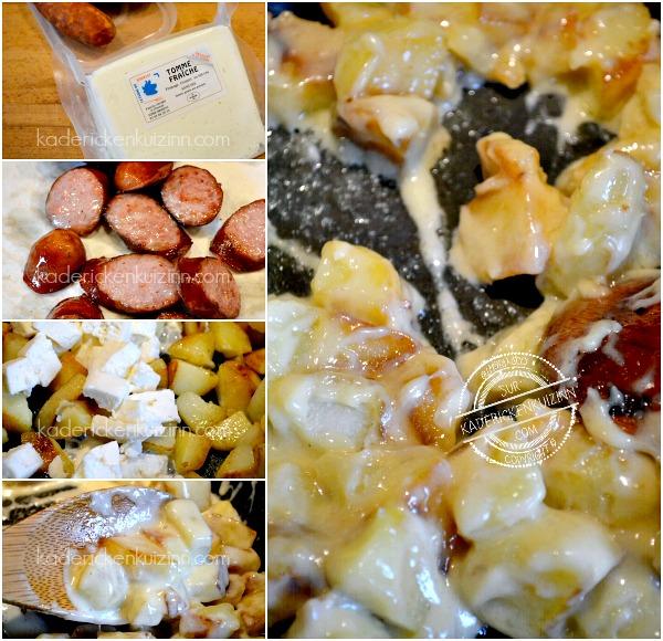 Ingrédients truffade - Recette truffade tomme fraîche Montbéliard chez Kaderick en Kuizinn