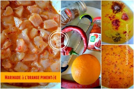 Recette marinade orange - Dossier marinade et plancha côte boeuf chez Kaderick en Kuizinn