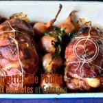 Recette Echalote - Paupiette poulet aux échalotes et estragon chez Kaderick en Kuizinn