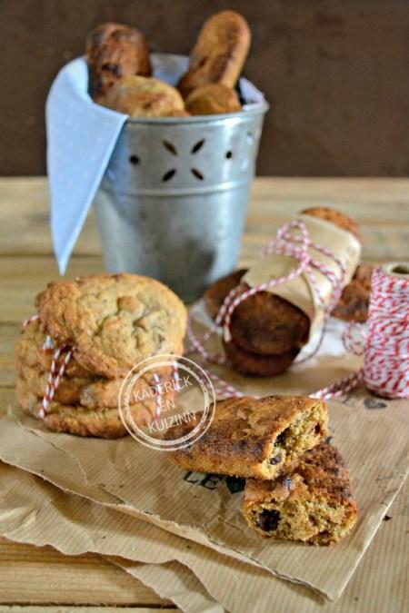 Avril 2015 - Dégustation Barres cookies - Cookies aux noisettes et chocolat chez Kaderick en Kuizinn