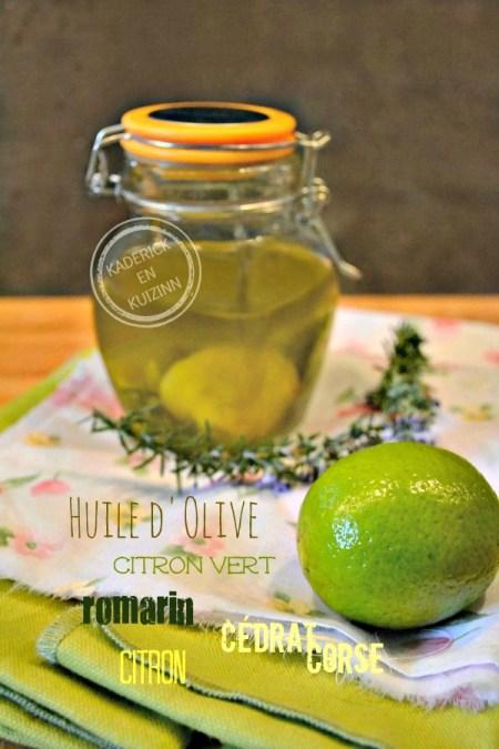 Dégustation Huile aromatisee agrume pour marinade à la plancha chez Kaderick en Kuizinn©