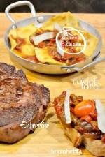 Dégustation ravioli - Raviole pâte fraiche confit oignon et poivron chez Kaderick en Kuizinn