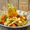 Recette plancha legumes - Recette légumes grillés mexicaine chez Kaderick en Kuizinn