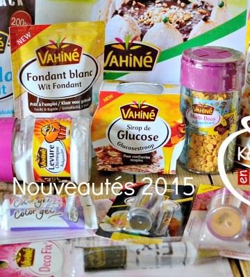 Vahine 2015 - Nouveautés 2015 produits Vahiné chez Kaderick en Kuizinn