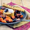 Recette fruits - Plancha fruits caramélisés et cookies chez Kaderick en Kuizinn