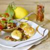 Recette Saint Jacques - Plancha noix St Jacques et condiments chez Kaderick en Kuizinn
