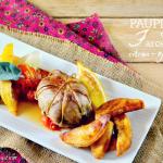 Recette paupiettes porc farce citron noix coco Omnicuiseur - Kaderick en Kuizinn
