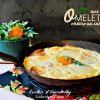 Recette omelette chips - Recette d'omelette au fromage de chèvre ou salers chez Kaderick