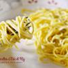 Recette spaghettis - Recette pâtes fraiches curcuma et poivre chez Kaderick en Kuizinn