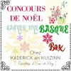 Gagner une Basque box au concours de Noël chez Kaderick