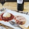 Rôti de porc basque Ossau Iraty jambon piperade