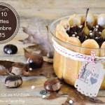 Top 10 recettes mois novembre 2015 charlotte poires chocolat