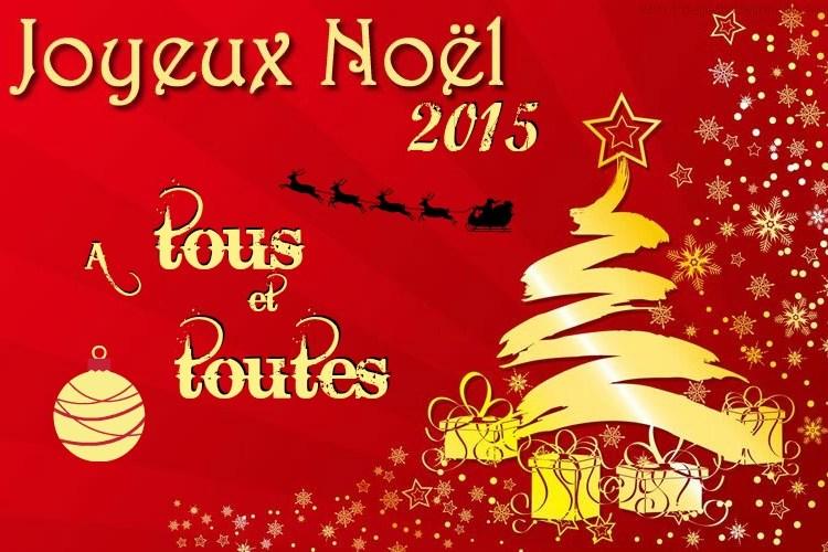 Joyeux Noel à tous et toutes - Kaderick en Kuizinn 2015