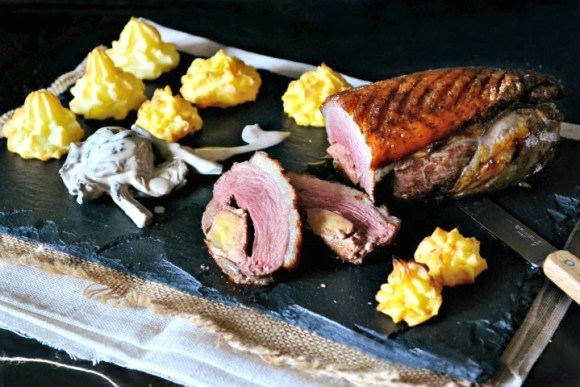 magret grill au four farci de foie gras kaderick en kuizinn. Black Bedroom Furniture Sets. Home Design Ideas