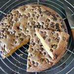 gâteau cookies aux pépites de chocolat