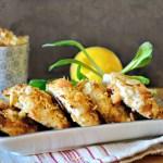 Croquettes de poisson haché enrobées crumble fromage - Kaderick