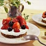 Cheesecake facile à la brousse et aux fruits rouges - Kaderick en Kuizinn