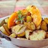 Plancha salé sucré - Pommes de terre et melon rissolés plancha Kaderick en Kuizinn