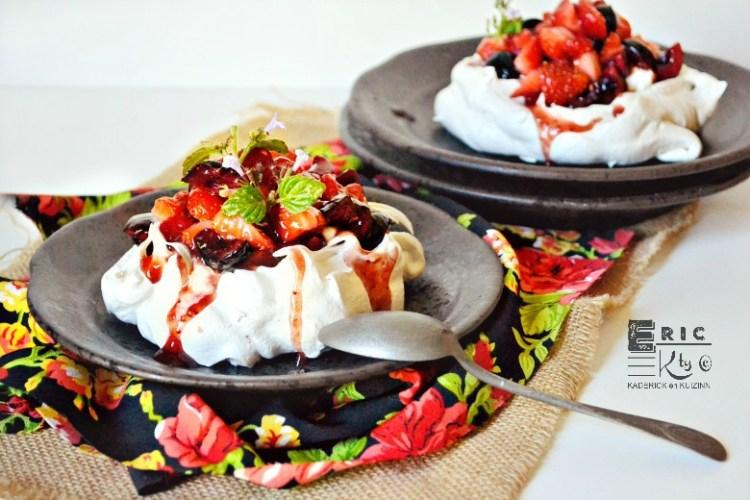 Recette pavlova fruits rouges | Kaderick en Kuizinn