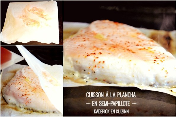 Poisson plancha cabillaud grill et sauce ananas for Poisson a la plancha