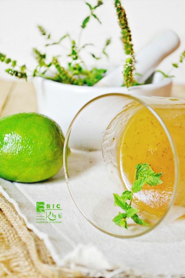 Mojito - Sauce mojito réduite pour servir viande ou poisson - Kaderick en Kuizinn