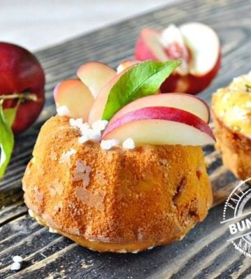 Bundt cake - Muffins ou cake moelleux de nectarines | Kaderick en Kuizinn