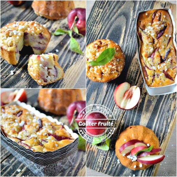 Goûter Bundt cake - Muffins ou cake moelleux de nectarines | Kaderick en Kuizinn