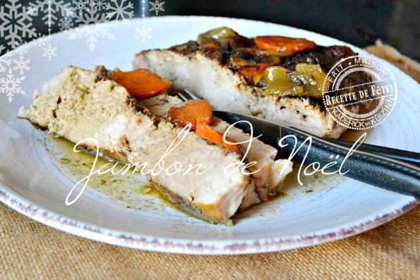 Recette rouelle de porc ou jambon à la bière et épices de Noël